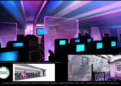 Set Design 3D And Visualization Designed For Herbal Essences - Everybody Wants Some - 2012