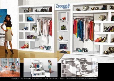 Concepts / Set Design / Illustrations - How Do I Look 2010