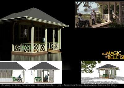 Concepts / Set Design / Illustrations - The Magic of Belle Isle - 2012