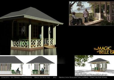 Concepts / Set Design / Illustrations - The Magic of Belle Isle - 2012