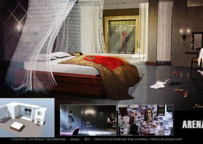 Concepts / Set Design / Illustrations - Arena - 2011