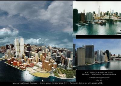 Manhattan Island Diorama