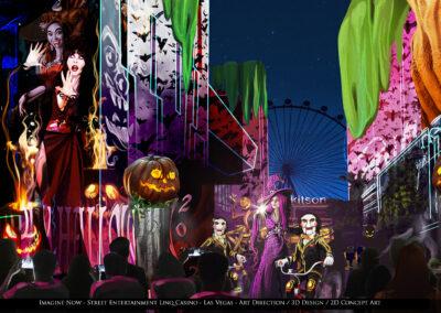 Linq Casino Street Entertainment